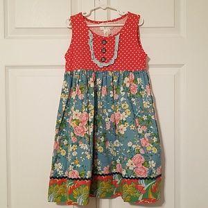 Matilda Jane Good Hart Red School House Dress
